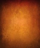 copper background with vintage metal grunge texture and black vignette border - 133933566