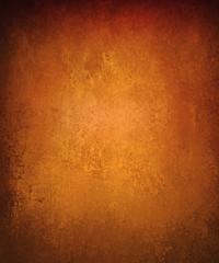 copper background with vintage metal grunge texture and black vignette border