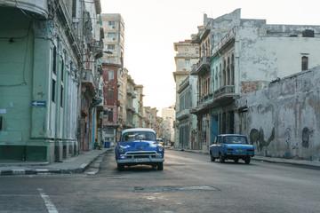 La Havana, Cuba – December 25, 2016: street view from La Havana Center, dairy cuban life, travel general imagery