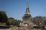 Древний храм в Аютхае. Тайланд