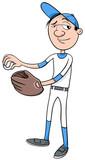 baseball player character