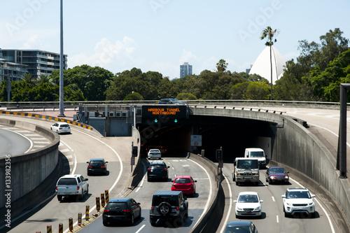 Fotobehang Sydney Sydney Harbour Tunnel - Australia