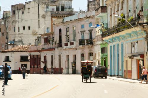 Tuinposter Havana Old Havana - Cuba