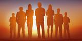 équipe - entreprise - leadership - groupe - challenge - 134010703