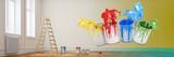 Farben bei Renovierung zu Hause