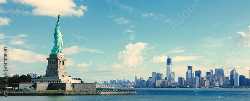 Foto op Aluminium New York Panorama on Manhattan, New York City