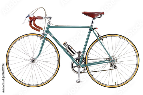 Aluminium Fiets Road bike, vintage roadbike