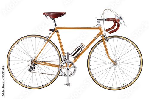 Foto Spatwand Fiets Road bike, vintage roadbike