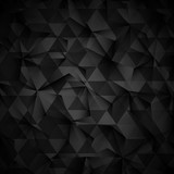 Abstract low poly background icon vector illustration graphic design