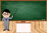 教室と先生