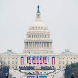 U.S. Capitol on Inauguration Day 2017 - 134072743