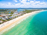 Fototapety An aerial view of Noosa National Park on Queensland's Sunshine Coast in Australia