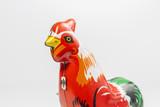 Vintage hen toy