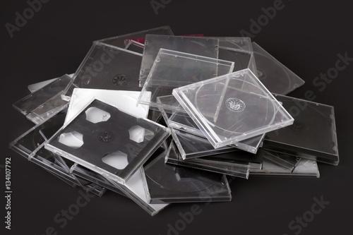 Poster Custodie CD vuote da riciclare