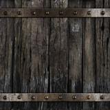 old medieval barrel wood background