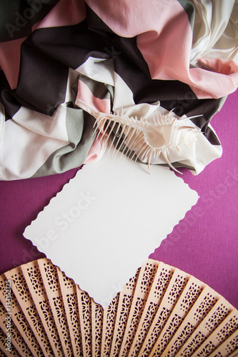 Poster vintage background for graphic design with retro  fan