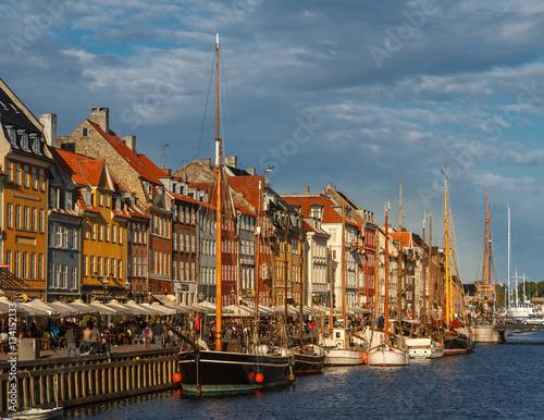 Poster Nyhavn canal Copenhagen
