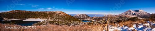 雪の霧島山_二湖パノラマ展望台