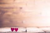 Two happy hearts