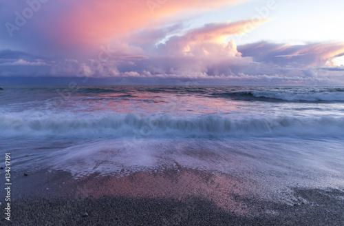 Plaża nad oceanem
