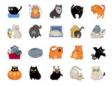 Cat Power Icon Set