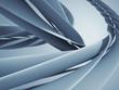 Abstract spiral curves modern hi-tech design background