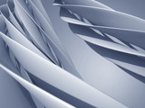Wide curved design element. Futuristic abstract background