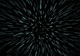 Hyperspace speed travel background - 134244336