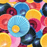 Abstract graphic pattern - 134248140