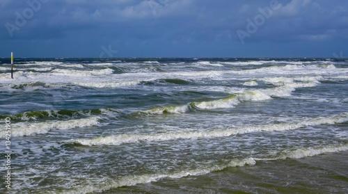 Deurstickers Noordzee Meerblick