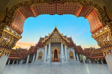 marble temple : Wat Benchamabophit