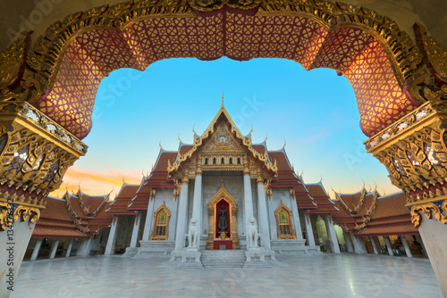 Poster marble temple : Wat Benchamabophit