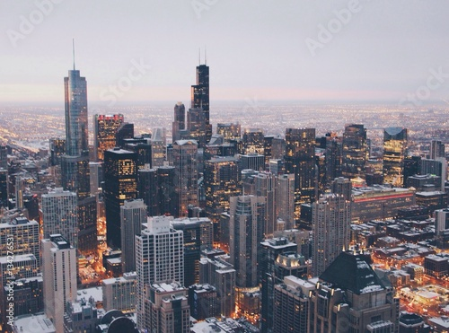 Fotobehang Chicago The Rise