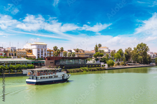 Guadalquivir river in Sevilla