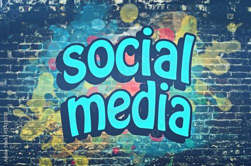 Aluminium Graffiti Social media graffiti wall