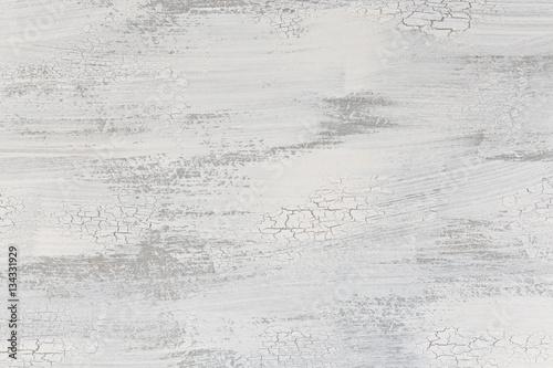 Grauer Hintergrund bemalt mit abgeplatzer weißer Farbe Plakát