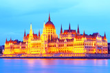 The Capital Of Hungary.Budapest.Parliament.