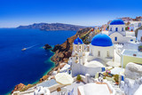 Beautiful Oia town on Santorini island, Greece - 134362781