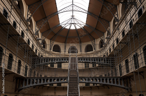 Kilmainham Gaol with Prison Cells in Dublin, Ireland Poster