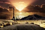 paris tour eiffel ville condition futur desert montagne séchere