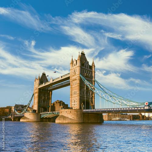 Poster London, Tower Bridge