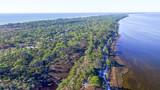 Fort De Soto Park in Florida, aerial view - 134416548