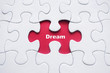 Missing puzzle with Dream word