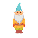 Gnomes Funny Dwarf Wall Sticker