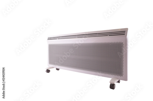 Poster Electric heater on a white background
