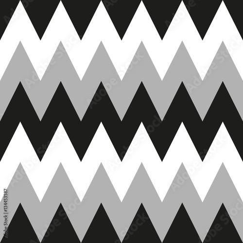 Chevron Zigzag seamless pattern - 134453587