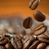 Fototapety coffee beans close up