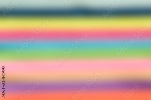 Poster abstract blur background of multicoloured stripes