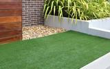 Modern front or back yard design ideas - 134534967