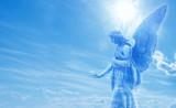 Magical angel in heaven - 134545598
